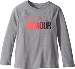 Under Armour Kids - Combo Logo Long Sleeve Tee (Big Kids)