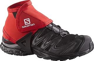 Salomon Trail Gaiters Low - Large - Black, Black