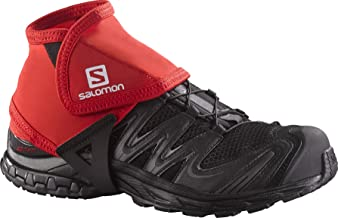 Salomon Trail Gaiters Low - Large - Black, Black