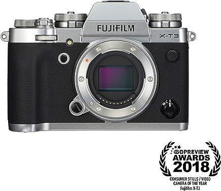 Fujifilm X-T3 Mirrorless Digital Camera (Body Only) - Silver