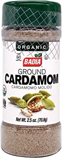Badia Spices, Organic Ground Cardamom, 2.5 Ounce