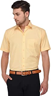 STUDIO NEXX Men's Solid Slim Fit Cotton Formal Shirt