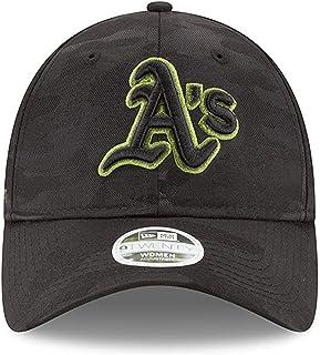 80498f9c9fd New Era Women  s Authentic Oakland Athletics Memorial Day 9TWENTY  Adjustable Hat - Black