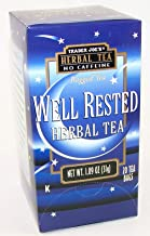 Trader Joe's Well Rested Herbal Tea No Caffeine 1.09 Oz (Pack of 4)