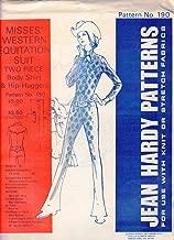 Vintage Uncut 1972 Jean Hardy #190 Western Wear Equestrian Suit
