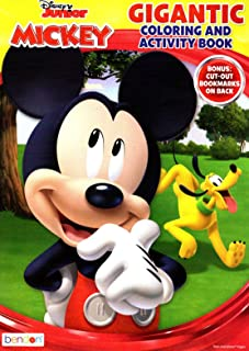 Disney Junior Mickey & Minnie Mouse - Gigantic Coloring & Activity Book - 200 Pages