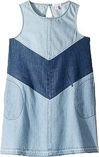 Ella Moss Girl Girl's 3 Tiered Denim Dress (Big Kids)