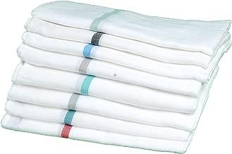 Angel Home Luxury Cotton Kerala Thorthu/Bath Towel (Large; White) -Set of 2