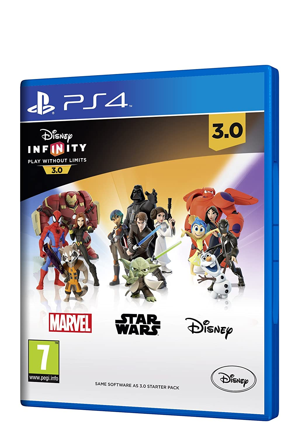 Disney Infinity 3.0 - PS4 Standalone Software Indefinitely Bombing free shipping