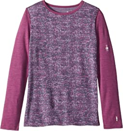 Merino 250 Base Layer Pattern Crew (Little Kids/Big Kids)