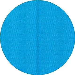 TecTake 800712 Manta Solar para Piscina, Cubierta Redonda Impermeable, Acortable, Azul - Varios Tamaños (2,5 m | 403106)