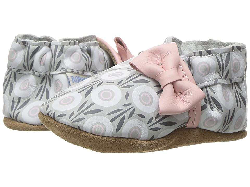 Robeez Wildflowers Soft Sole (Infant/Toddler) (Pastel Pink) Girl
