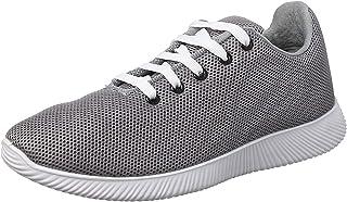 حذاء رياضي قماش شبكي برباط وبطانة مختلفة اللون للرجال