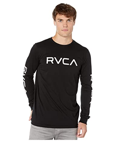 RVCA Big RVCA Long Sleeve (Black) Men