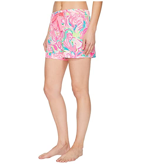 de Raz pijama día Lilly punto Pulitzer el de todo Berry cortos Pantalones Rose wxZqCg4C