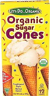 Lets Do Organics, Sugar Ice Cream Cone, Organic, 5 Ounce