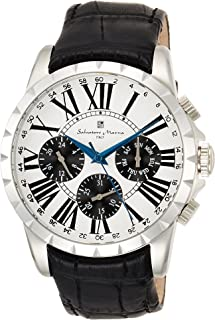 [サルバトーレマーラ]Salvatore Marra メンズ腕時計 サルバトーレマーラ マルチカレンダー SM15103-SSWH メンズ 【正規輸入品】