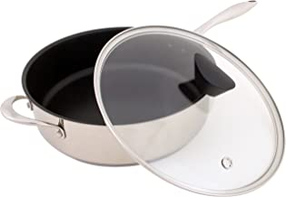 Ozeri ZP11-5L All-In-One Sauce Pan, Stainless Steel