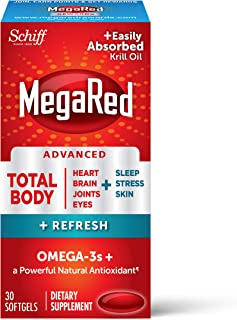 Megared MEGARED® Advanced Total Body Refresh Omega - 500mg 12/30 ct, 30 Count