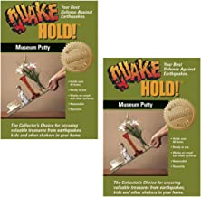 Quakehold! 88111 Museum Putty Neutral (2 pack)