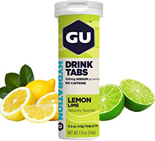 Sponsored Ad - GU Energy Hydration Electrolyte Drink Tablets, 8-Count(96 Servings), Lemon Lime
