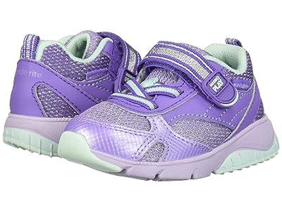 Stride Rite M2P Indy (Toddler) (Lilac/Aqua) Girls Shoes