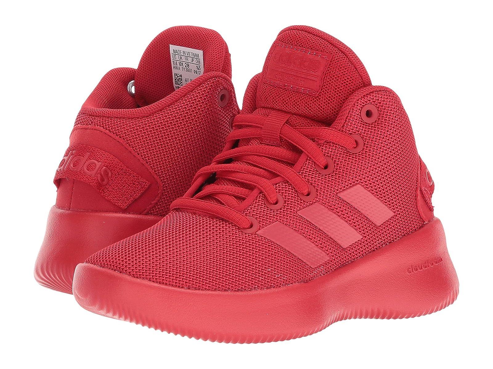 adidas Kids Cloudfoam Refresh Mid (Little Kid/Big Kid)Stylish and characteristic shoes