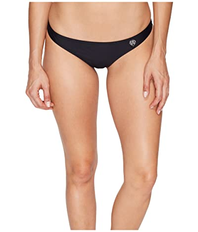 Body Glove Smoothies Thong Bottoms (Black) Women