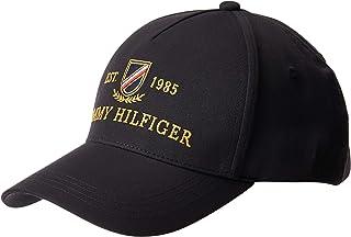 تومي هيلفغر قبعة البيسبول وسناباك ، اسود ، قياس واحد - AM0AM05677