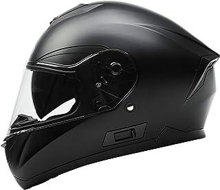 Motorcycle Full Face Helmet DOT Approved – YEMA YM-831 Motorbike Moped Street Bike..