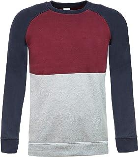ThreadMills Men Sweatshirt Crew Neck Jumper for Men Long Sleeves Mens Fleece Casual Pullover Sweatshirt Men