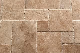 walnut travertine versailles pattern