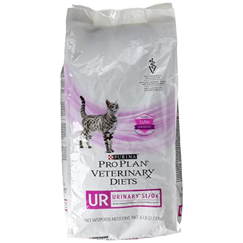 Veterinary Diets Purina Feline UR Urinary Tract Dry Cat Food 6 lb Bag