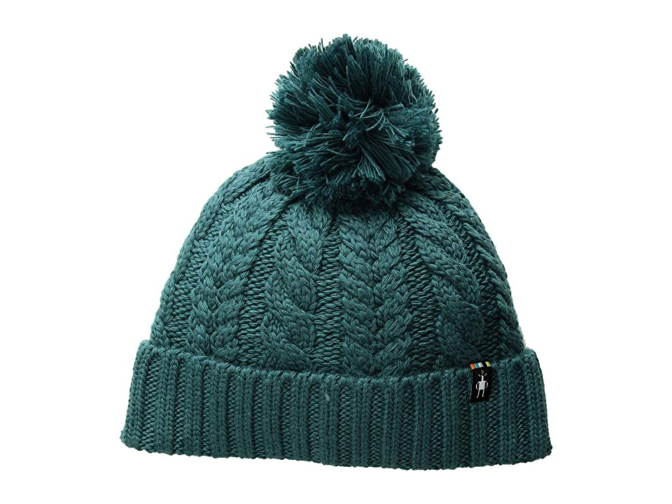 Smartwool Ski Town Hat (Mediterranean Green) Beanies
