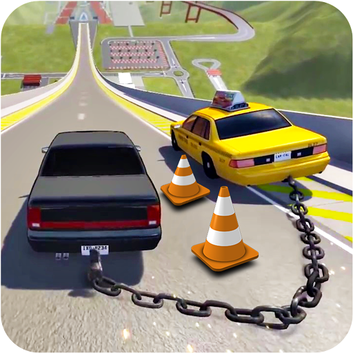 Chained Cars Speed Racing - Chain Break Driving
