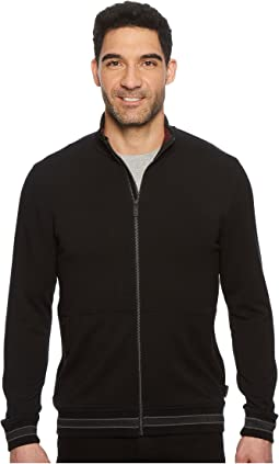 Ted Baker - Collie Long Sleeve Full Zip Funnel Neck Sweatshirt