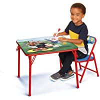 Deals on Disney Junior 45704 Mickey Kids 20 x 20-in Table & Chair Set