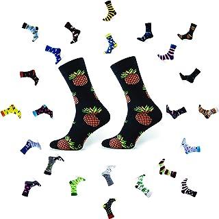 Calcetines Divertidos Algodón Mujer Hombre Locos Coloridos Funny Socks