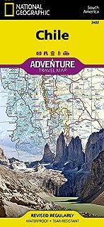 Chile: Travel Maps International Adventure Map