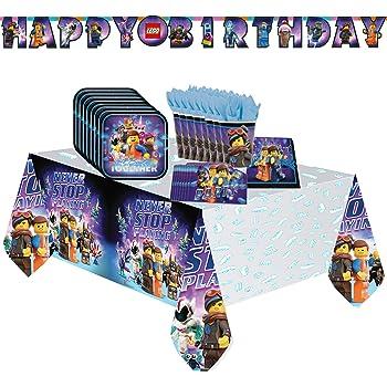 Geschirr Deko zum Kindergeburtstag Kinder Geburtstag Party Set NINJA TURTLES