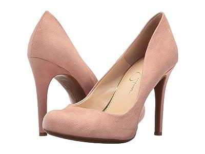 Jessica Simpson Calie (Nude Blush Microsuede) High Heels
