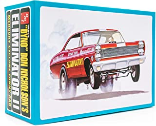 AMT Auto World 1967 Mercury Cyclone Eliminator II - 1/25 Scale Model Kit - Buildable Vintage Muscle Vehicles for Kids and Adults