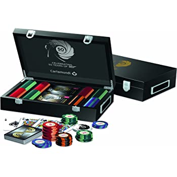 Cartamundi James Bond 50th Anniversary 200 Chips Poker Set