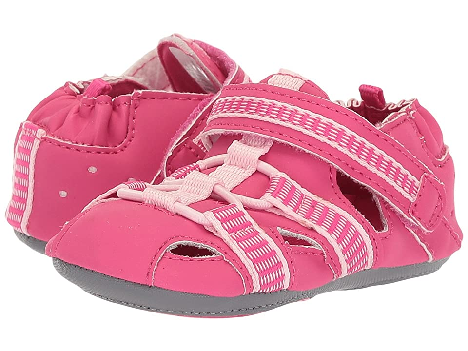 Robeez Beach Break Mini Shoez (Infant/Toddler) (Hot Pink) Girl