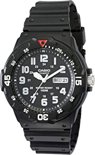 Casio Black Diver Look Analogue Mrw200H-1B Watch