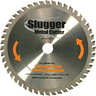 Jancy Slugger MCBLO7-SS Stainless Steel Cutting Saw Blade, 7