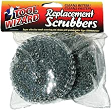 Tool Wizard BBQ Brush Replacement Scrub Pads.