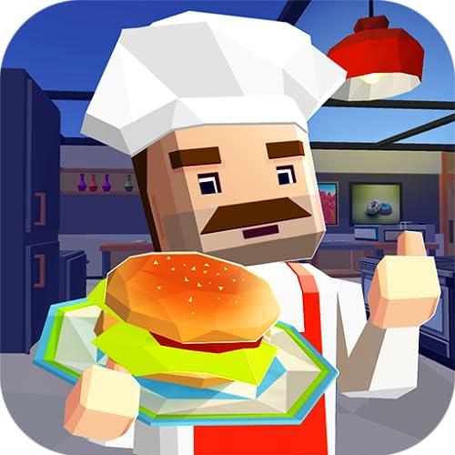 Burger Bar Tasty Cooking Dash: Fast Food Restaurant Mania | Burger Making Café World Cooking Master