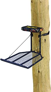 "Rivers Edge RE554, Big Foot XL Classic, Lever-Action Hang-On Tree Stand with Padded Flip-up Seat, Large 36.5"" x 24"" Platform, Footrest"