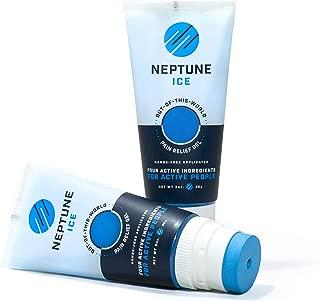 Neptune Ice Pain Relief Gel   Lidocaine, Menthol, Camphor, Dimethicone + Arnica, Boswellia, MSM, Aloe   3 Ounce Tube   2 Pack